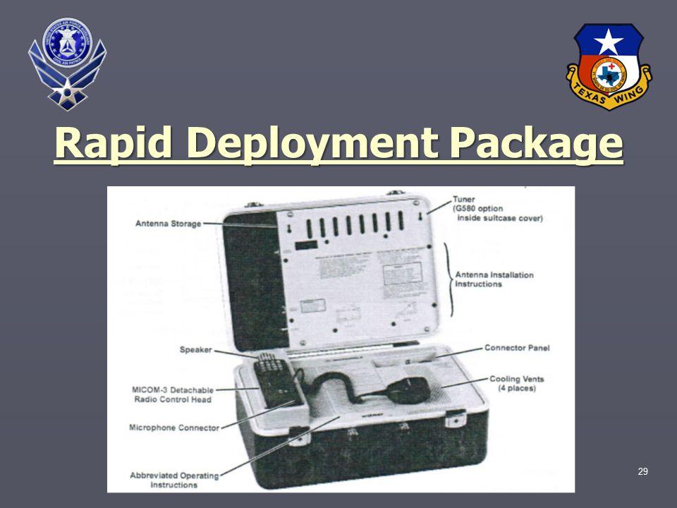 29 Rapid Deployment Package