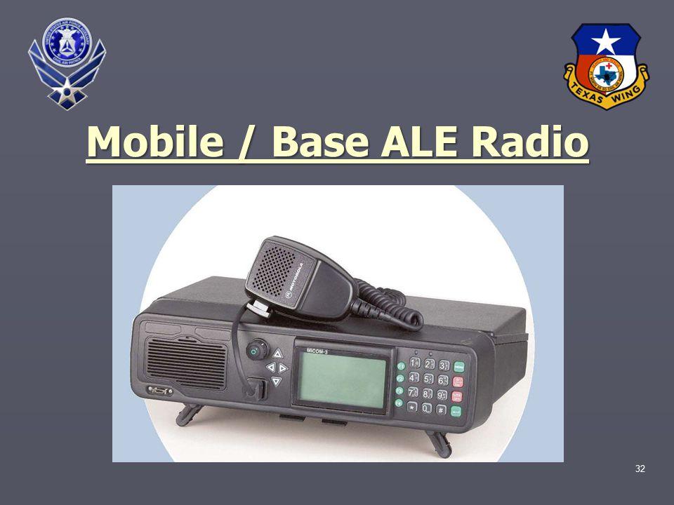 32 Mobile / Base ALE Radio