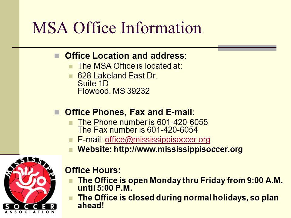 Effective Use of the MSA Office Staff Imagine!!!.