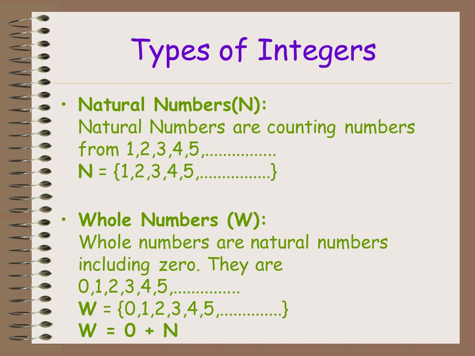 Integers are rational numbers because they can be written as fraction with 1 as the denominator.