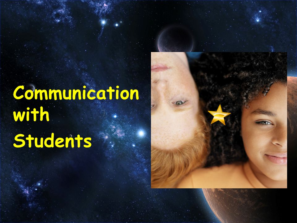 Communication with Students