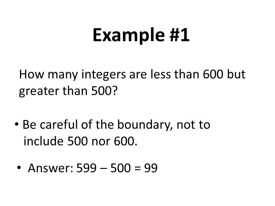 Example #6: 1 + 2 + 3 + … + 100 = .