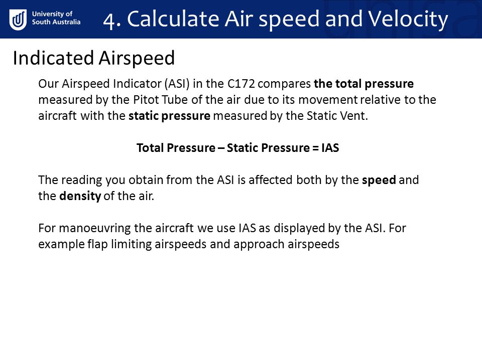 Our Airspeed Indicator (ASI) in the C172 is subject to 2 types of errors; Instrument Error This type of error is a result of friction within the instrument and/or bad design.