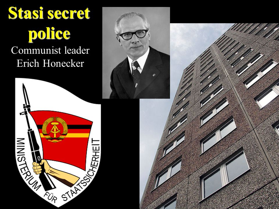 Stasi secret police Communist leader Erich Honecker