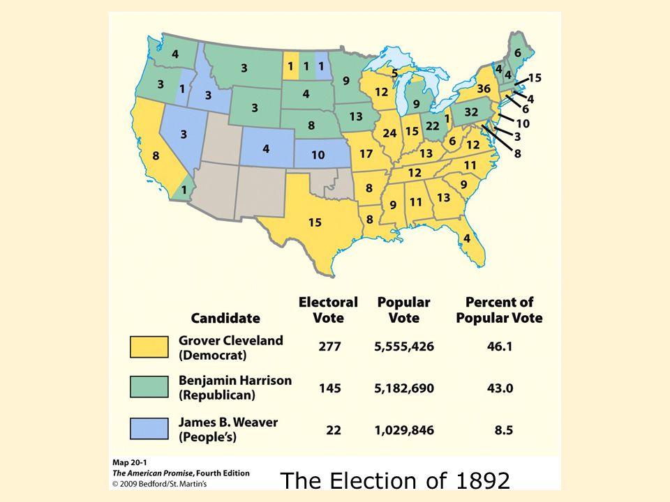 Depression Politics Coxey's Army –Spring of 1894 - unemployed Americans marched to Washington, D.C., - economic plight - public works program - end unemployment - Jacob S.