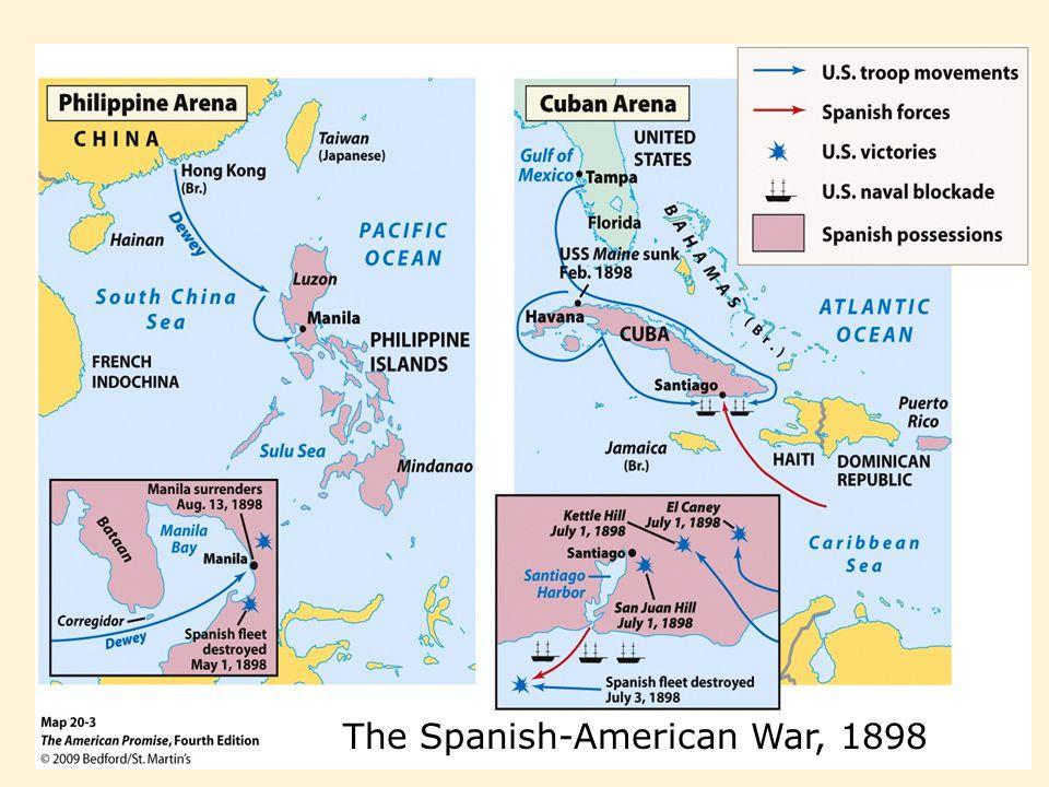 The Spanish-American War, 1898