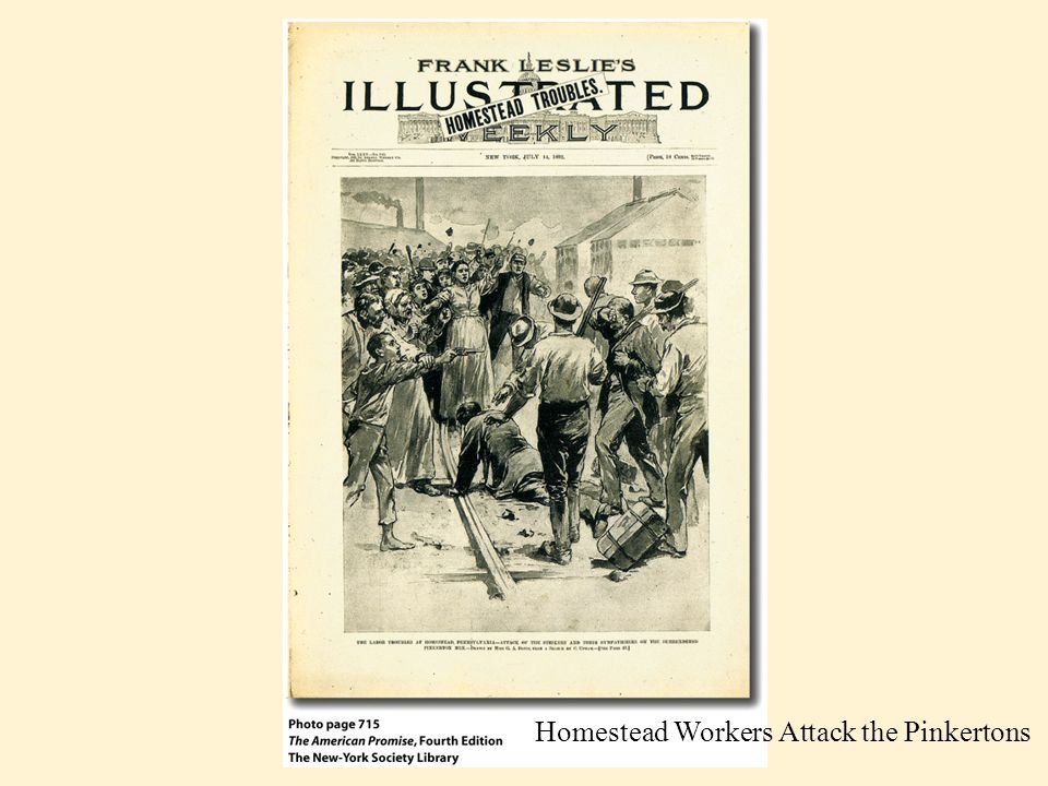 –Piecework for day wages - undermining skilled crafts workers - workers rebelled - American Railway Union (ARU) led by Eugene V.