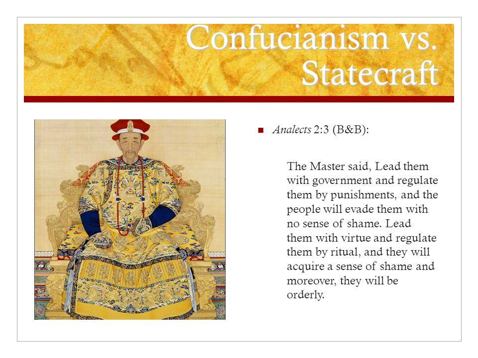 Confucianism vs.