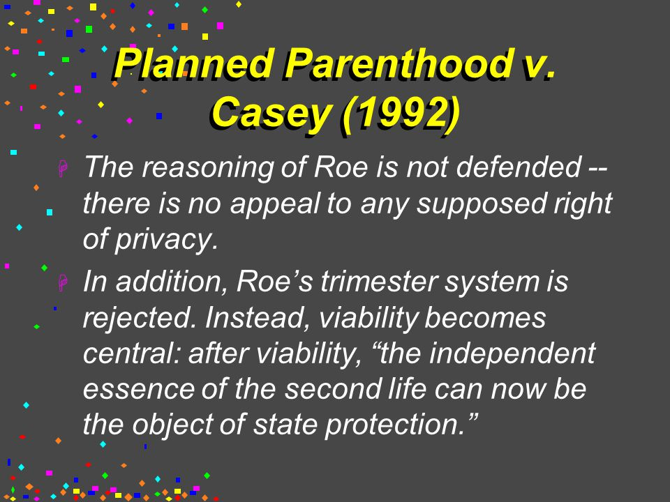 Planned Parenthood v.