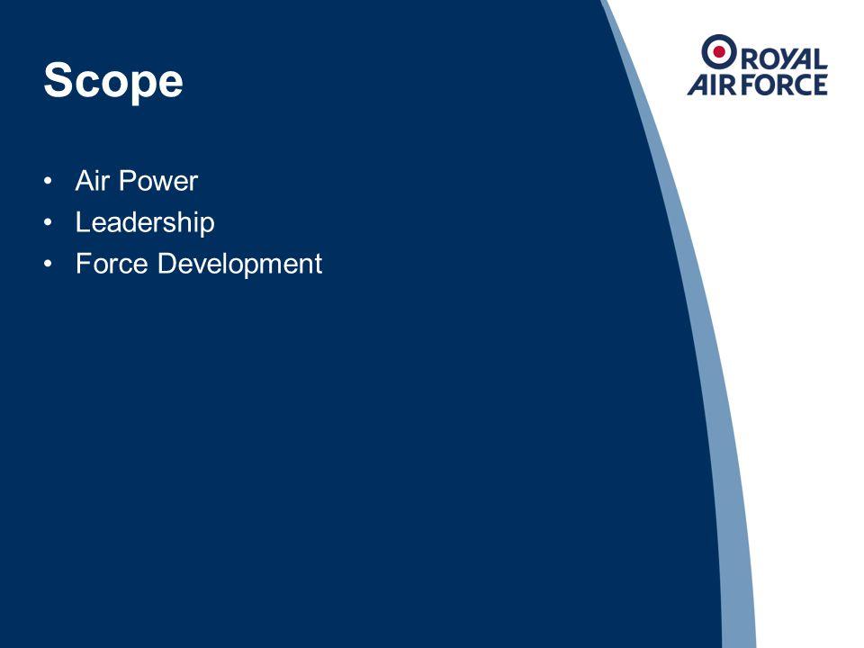Scope Air Power Leadership Force Development