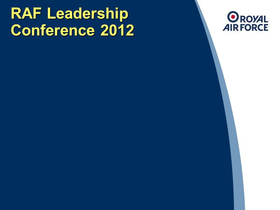 RAF Leadership Conference 2012 23