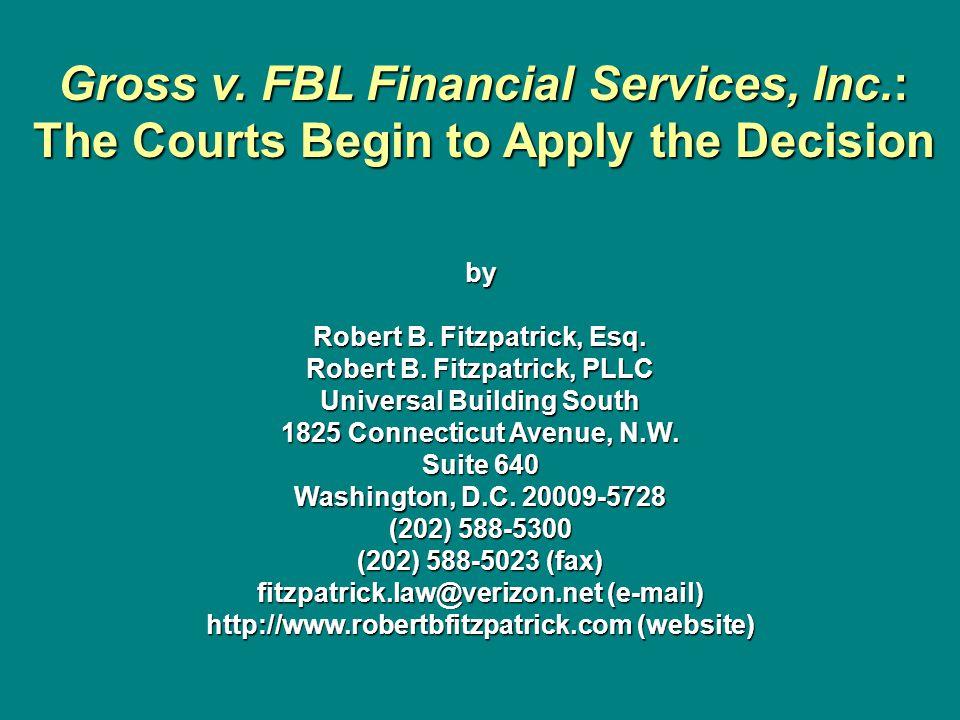 by Robert B. Fitzpatrick, Esq. Robert B.