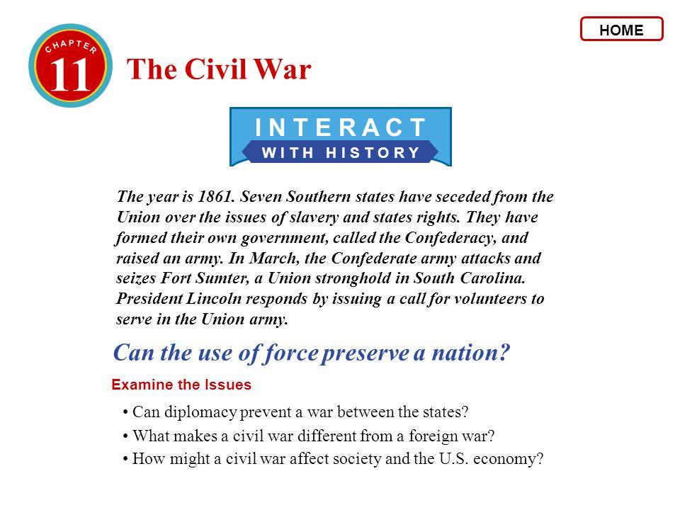 2 The Politics of War 2.