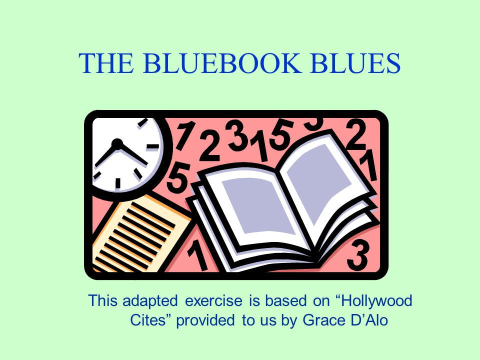 Bluebook Answer No.The correct form is: v. Harris.