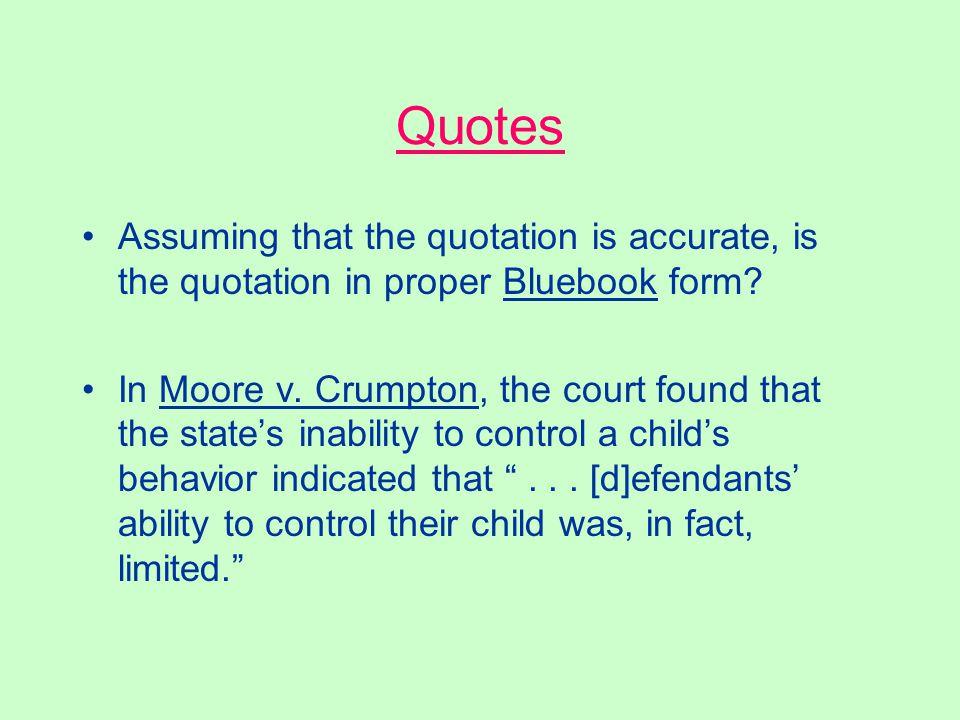 Bluebook Answer No, Hanjaras at 357 is incorrect. Id. at 357. Hanjaras, 65 S.E. at 357. 65 S.E. at 357. Rule B5.2; Rule 10.9