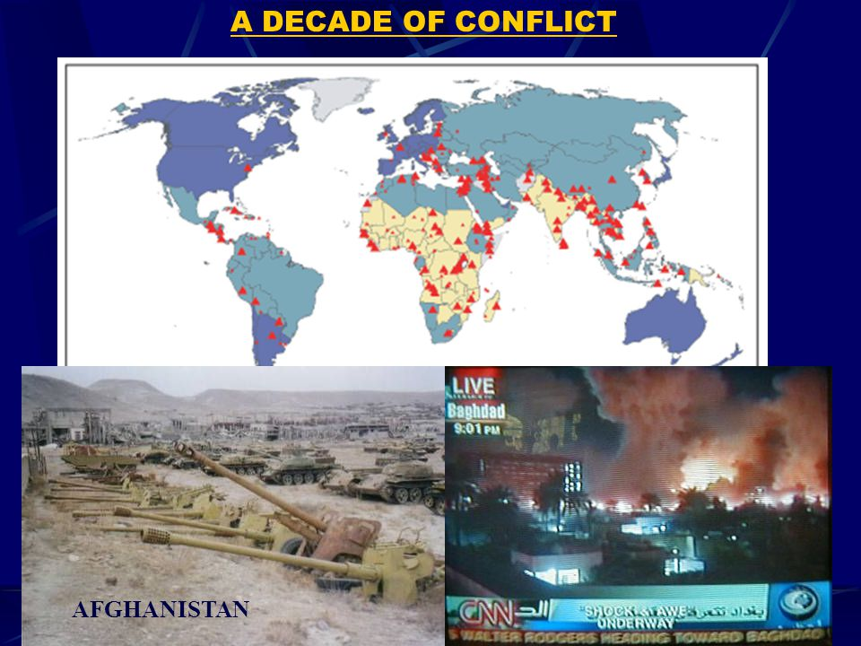 A DECADE OF CONFLICT AFGHANISTAN