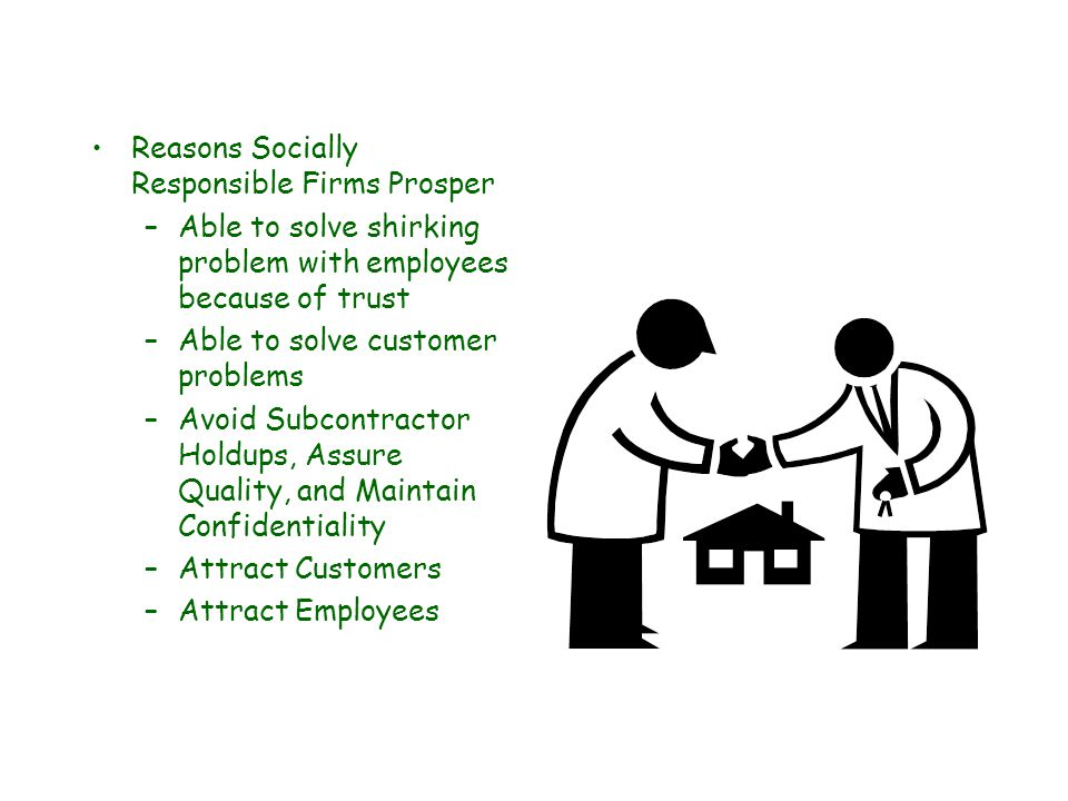 Can Socially Responsible Firms Survive in a Competitive Environment.