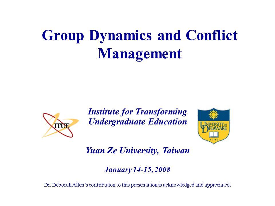 Yuan Ze University, Taiwan January 14-15, 2008 Dr.