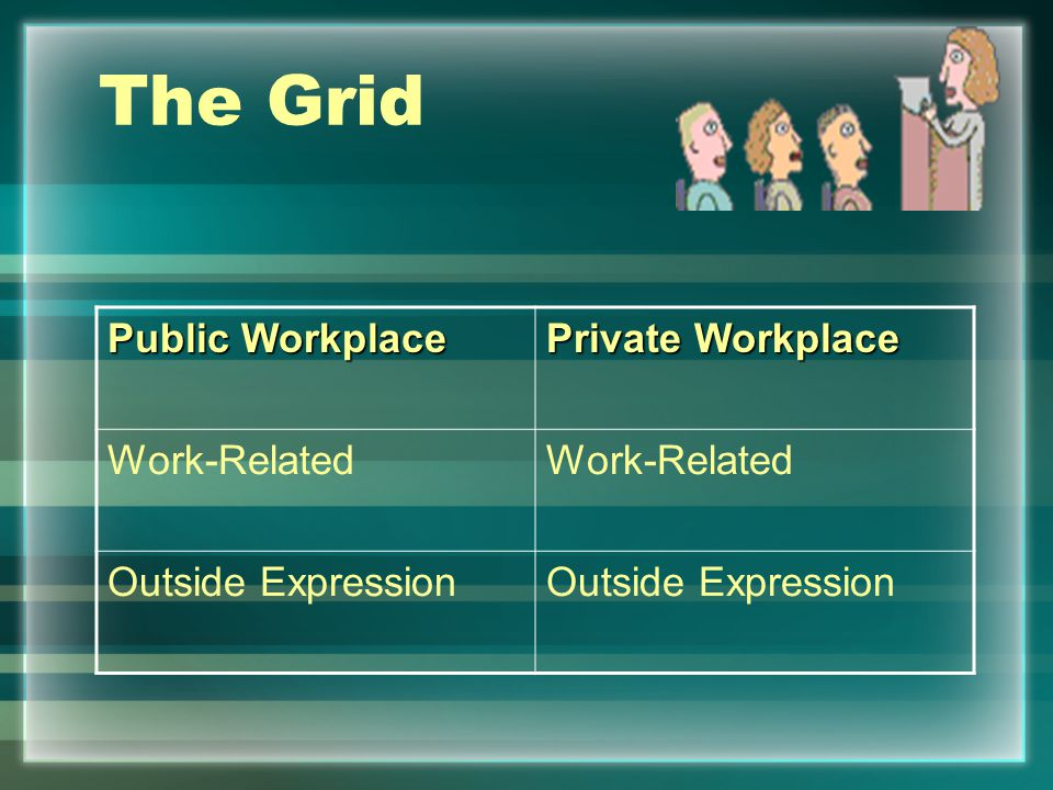 Problem 7-1 Employee speech rights v. Antidiscrimination and harassment law