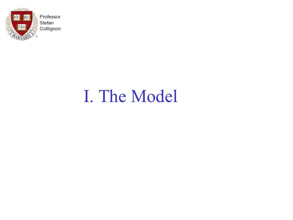 Professor Stefan Collignon I.The Model 1.