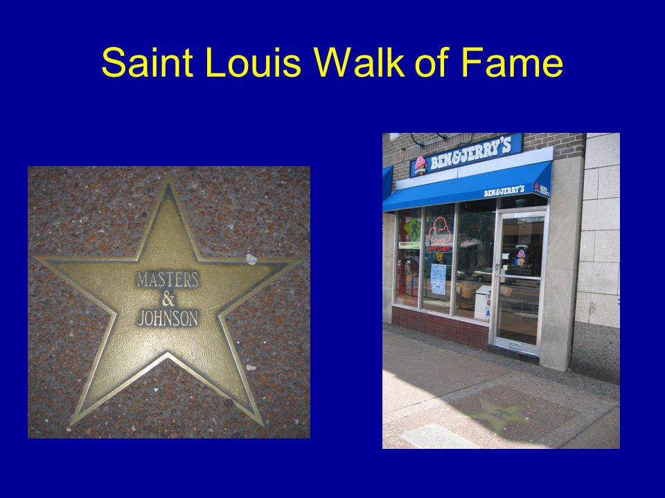 Saint Louis Walk of Fame