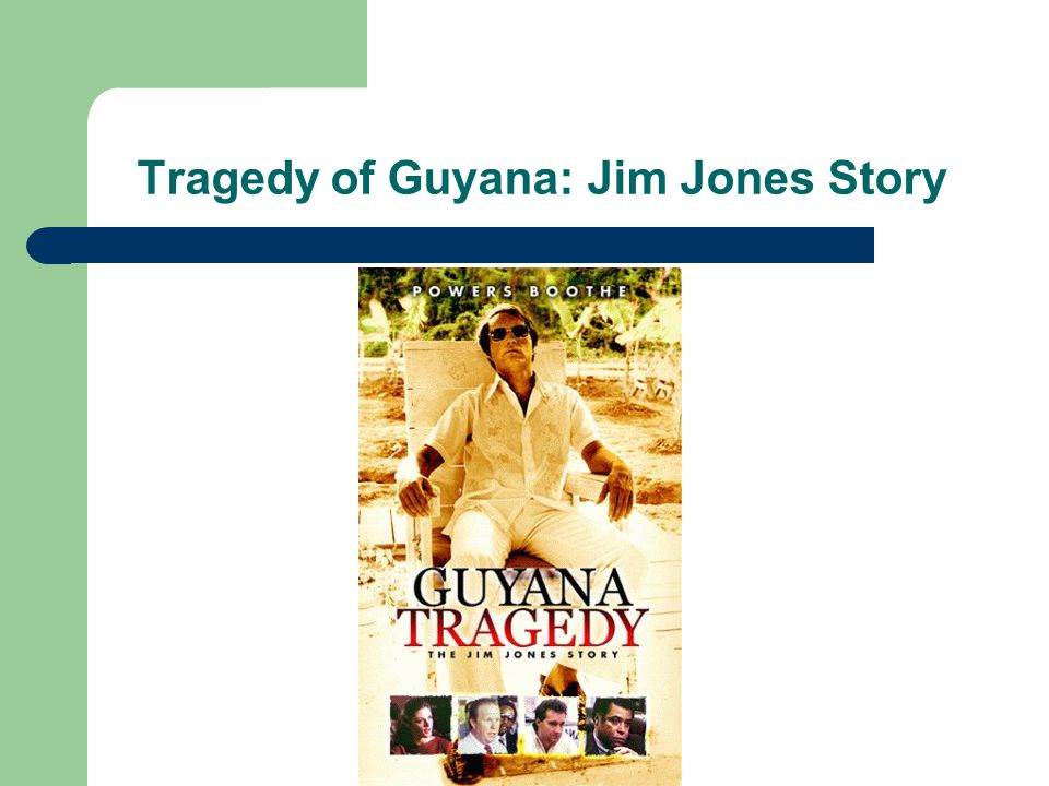 Tragedy of Guyana: Jim Jones Story