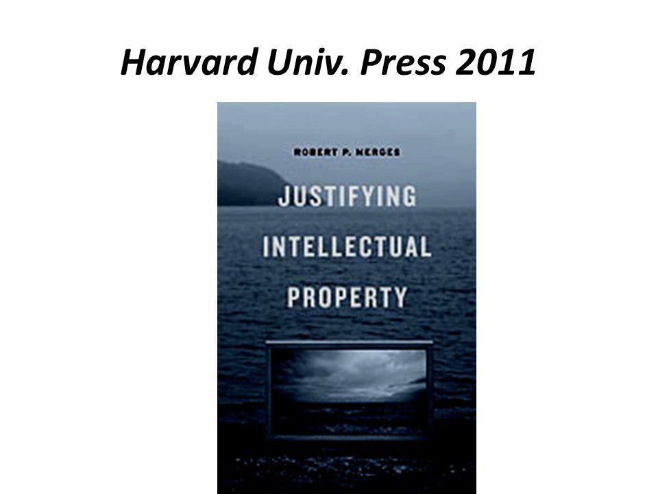 Harvard Univ. Press 2011