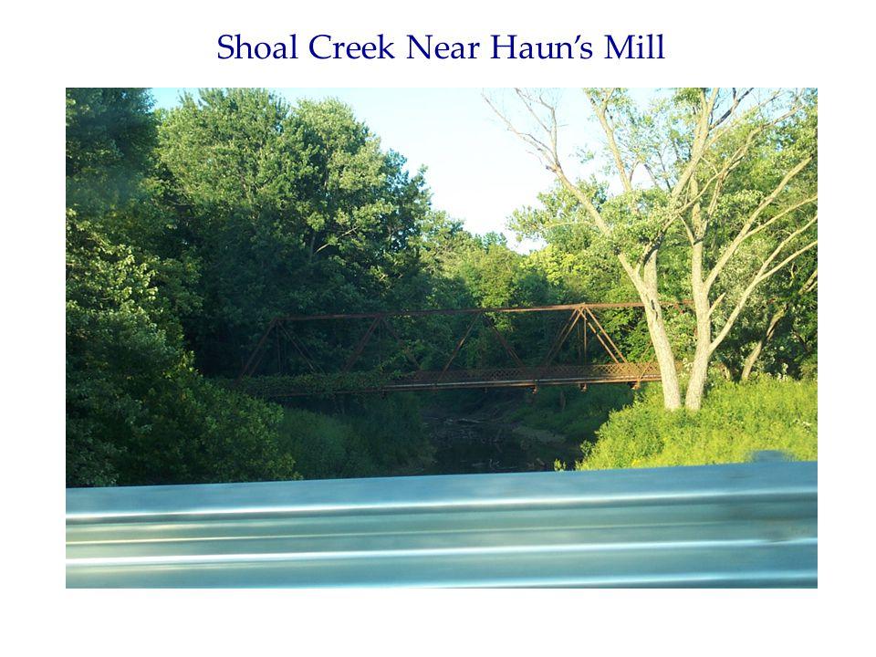 Shoal Creek Near Haun's Mill