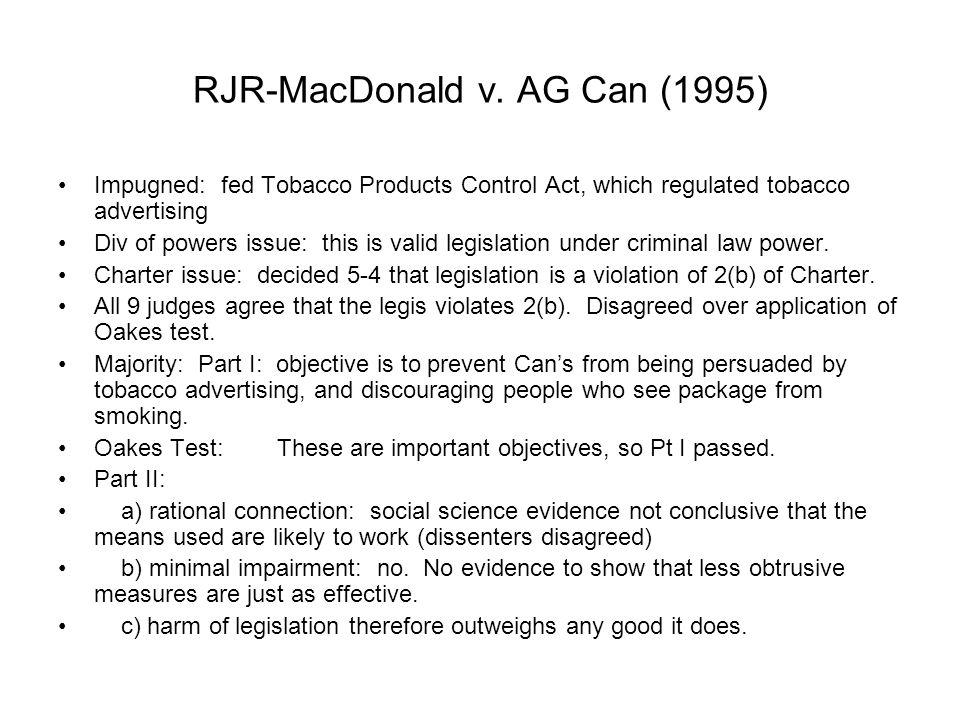 RJR-MacDonald v.