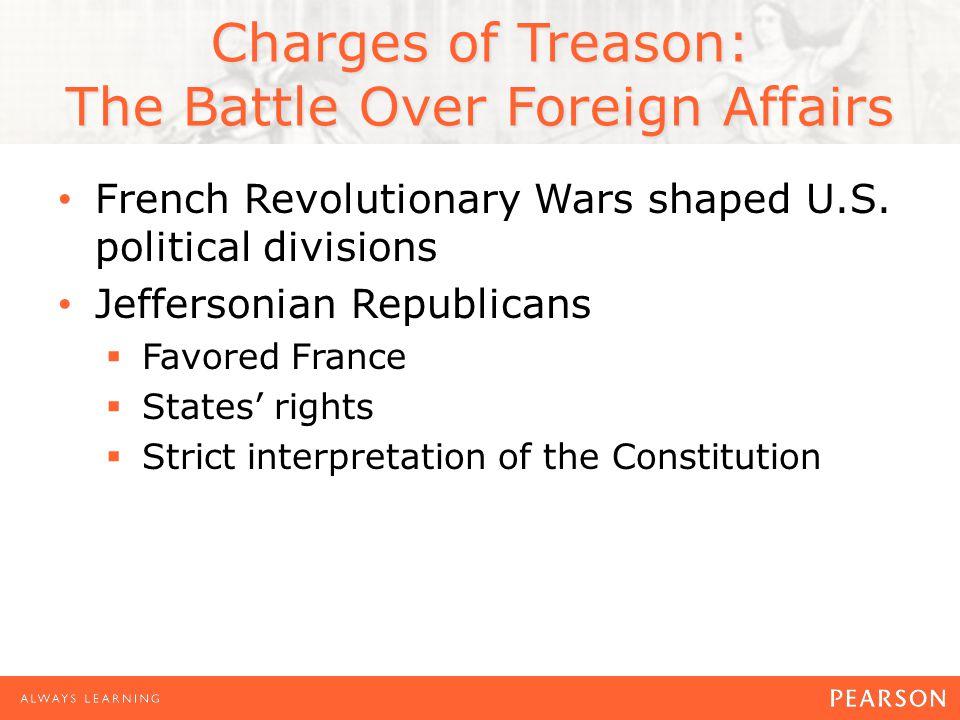French Revolutionary Wars shaped U.S.