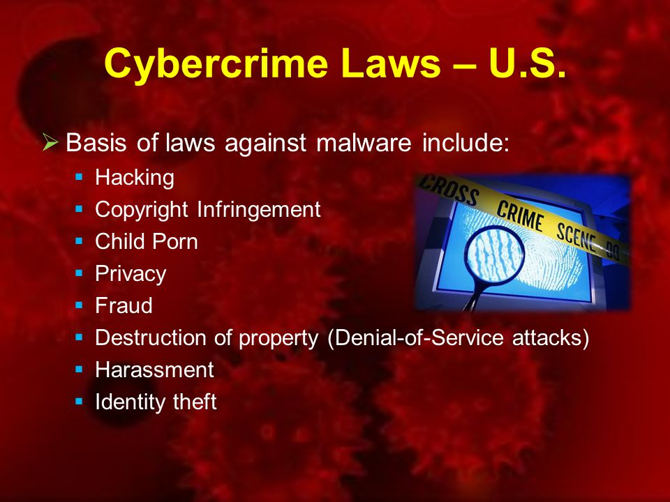 Cybercrime Laws – U.S.