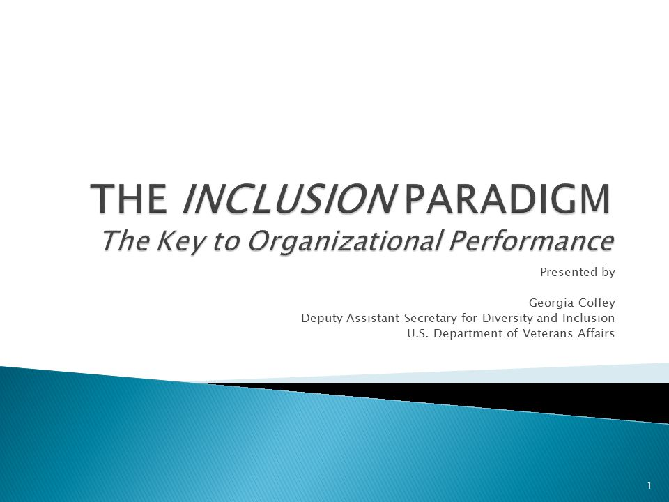 Inclusion Index A measure of organizational inclusion based on Federal Employee Viewpoint Survey (FEVS) results.