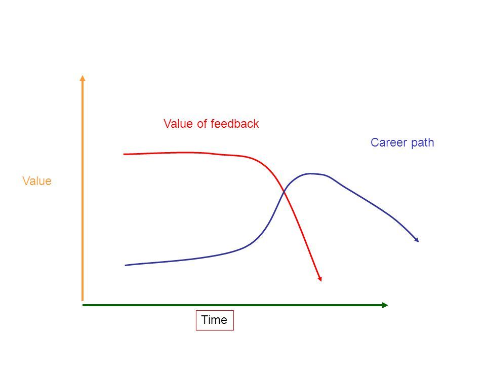 Time Value Value of feedback Career path