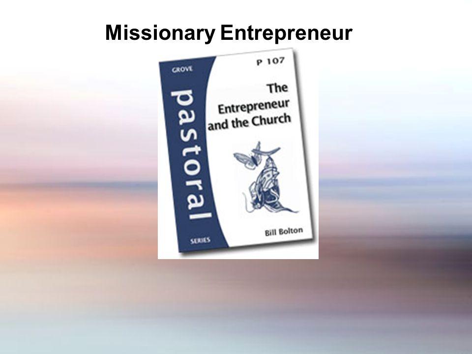 Missionary Entrepreneur