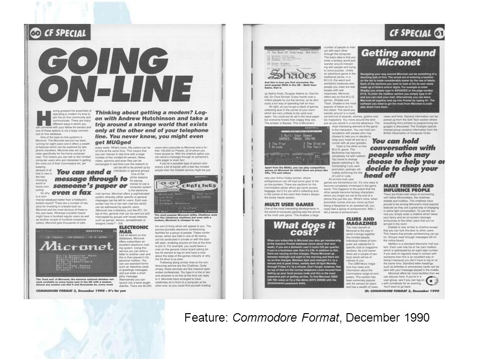 Feature: Commodore Format, December 1990