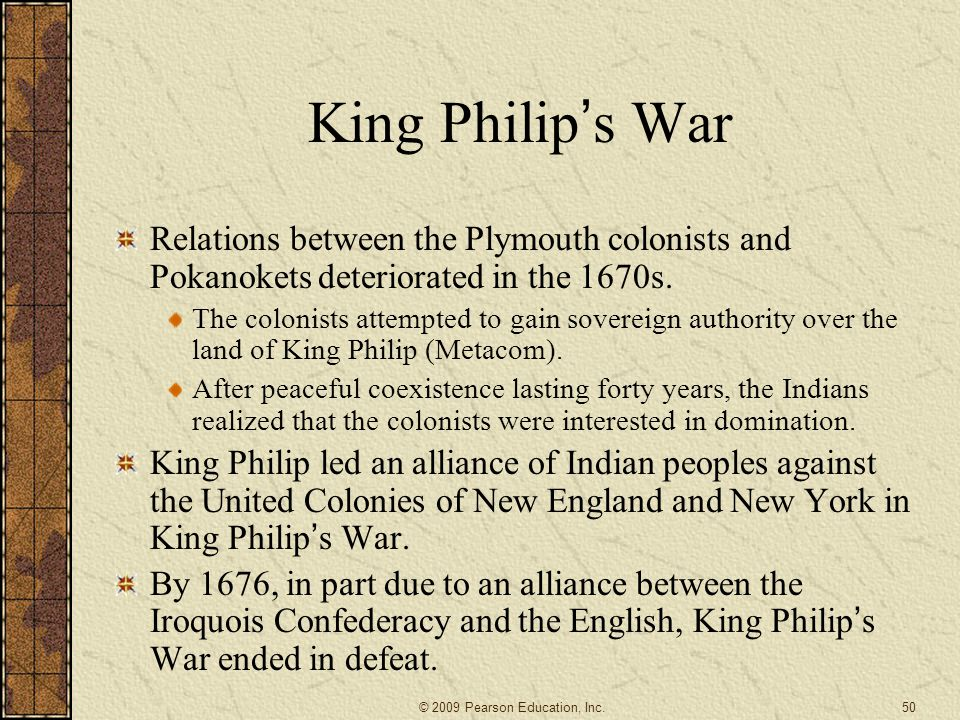 King Philip ' s War Relations between the Plymouth colonists and Pokanokets deteriorated in the 1670s.