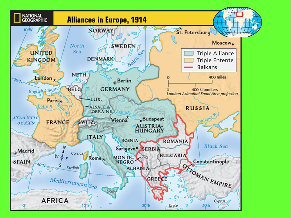 I. Nationalism & the System of Alliances Increase competition Rivalries over colonies & trade 1882 Triple Alliance: Germany, Austria-Hungary & Italy 1