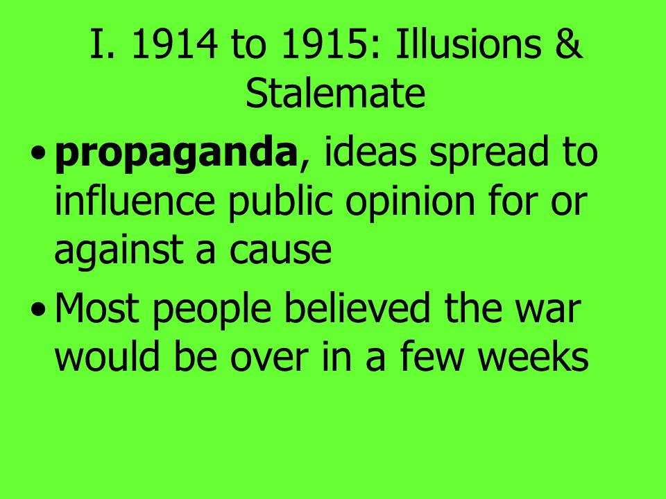 Daily Objectives Summarize how governments expanded their powers, increased opportunities for women & made use of propaganda.