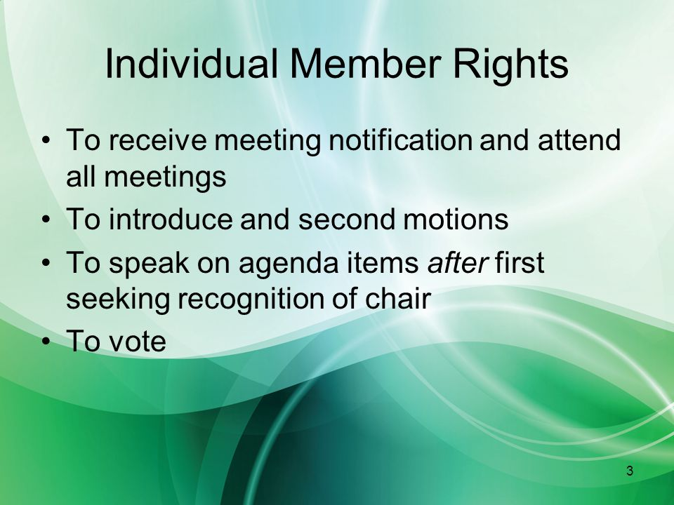 14 Secretary Maintain documents Take meeting minutes Sign the minutes Bring relevant documents to meeting