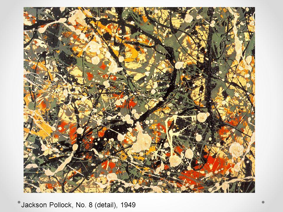Jackson Pollock, No. 8 (detail), 1949