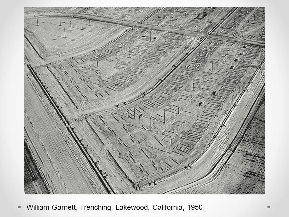 William Garnett, Trenching, Lakewood, California, 1950