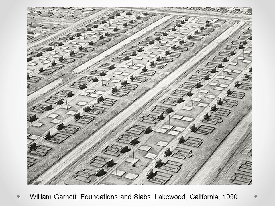 William Garnett, Foundations and Slabs, Lakewood, California, 1950