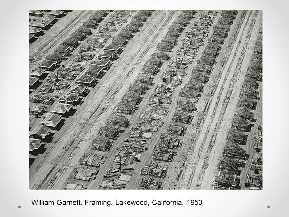 William Garnett, Framing, Lakewood, California, 1950