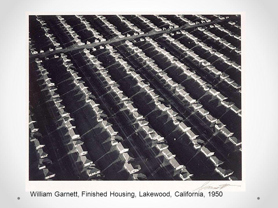 William Garnett, Finished Housing, Lakewood, California, 1950