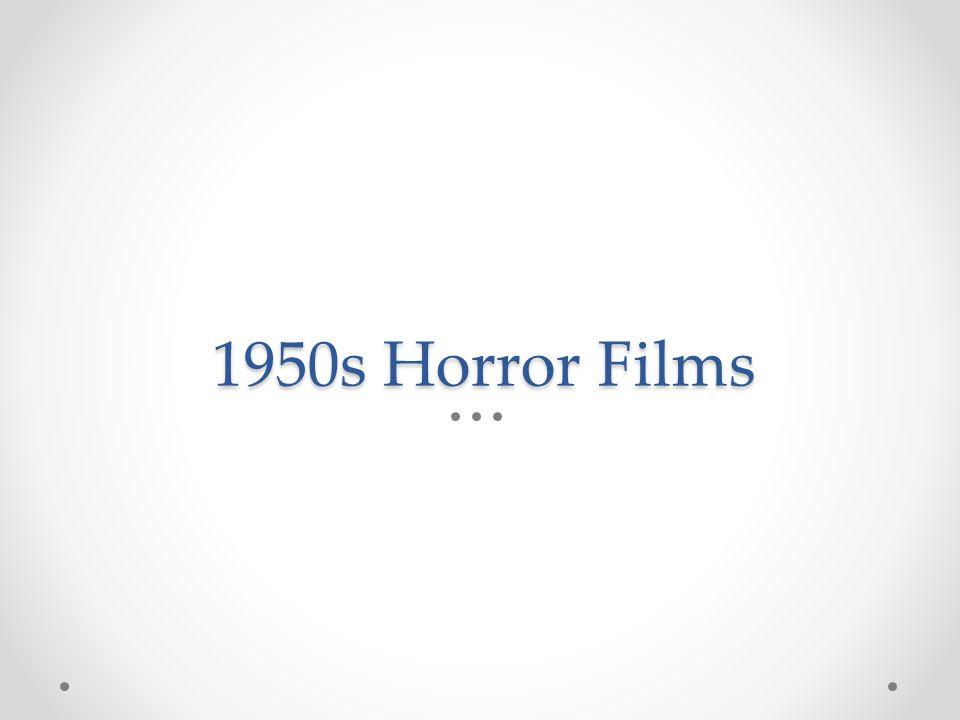 1950s Horror Films