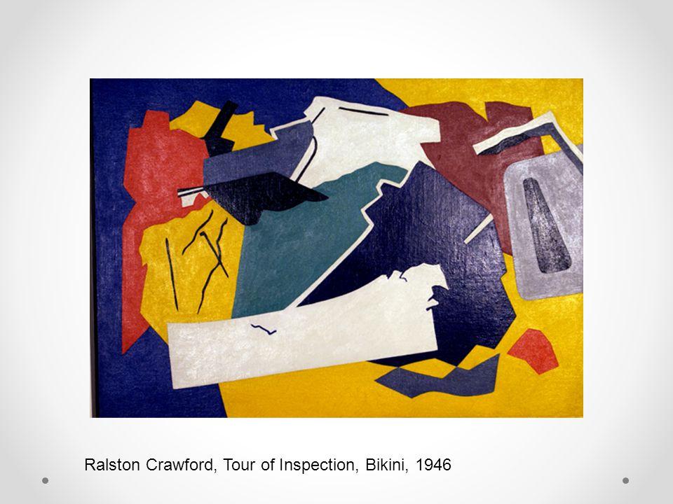 Ralston Crawford, Tour of Inspection, Bikini, 1946