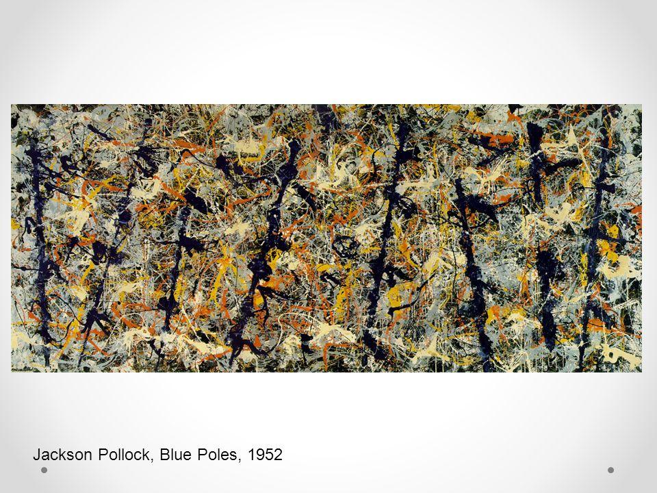 Jackson Pollock, Blue Poles, 1952