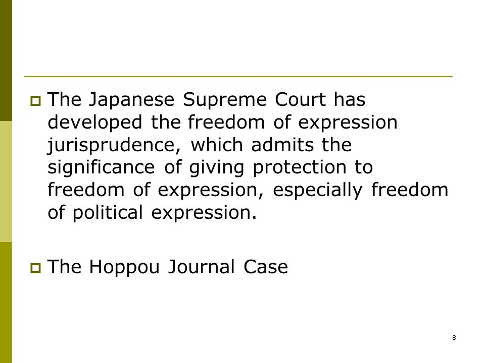 9  Yet, freedom of expression is subject to restrictions for the purpose of protecting public welfare.