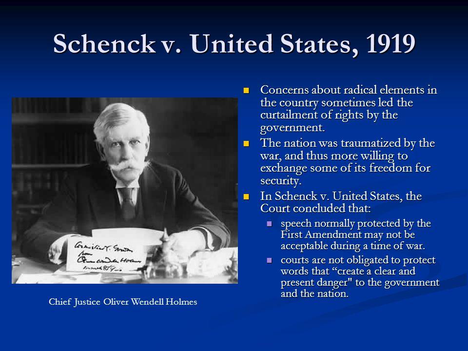 Schenck v.