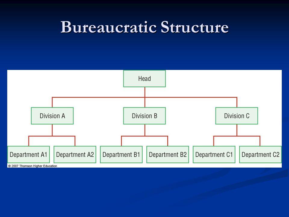 Bureaucratic Structure